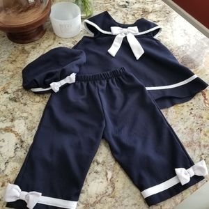 RARE EDITION 3 PIECE BABY GIRL SET OUTFIT